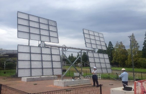 The cost-effective and scalable dual axis solar tracker
